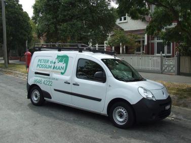 peter the possum man van